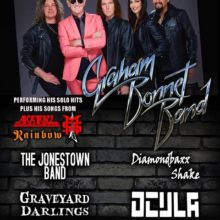 Tucson's Local Band: Ocula – with The Graham Bonnet Band