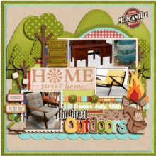 Home Sweet Home in The Great Outdoors – It's a Mash-Up!